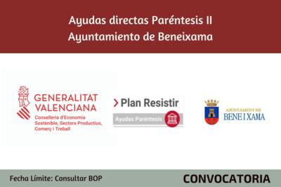 Ayudas Económicas Covid 19 - Ayuntamiento de Beneixama