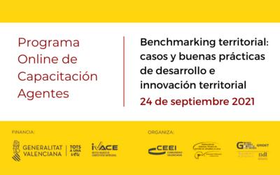 Benchmarking territorial: casos y buenas prácticas de desarrollo e innovación territorial
