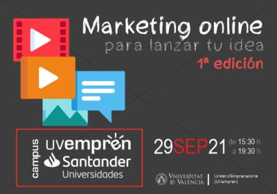 1ª edición del curso de marketing online para lanzar tu idea