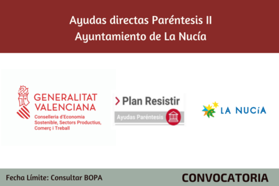 Ayudas Económicas Covid 19 - Ayuntamiento de La Nucía