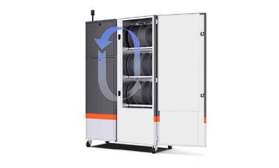 BigRep lanza su cabina para manutención de filamentos 3d SHIELD