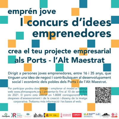Concurs Empren Jove Els Ports Alt Maestrat