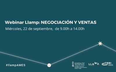 Webinar Llamp: Ventas y Negociación