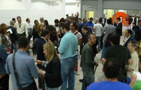 Intercambio de tarjetas. Enrédate Alcoy 2014