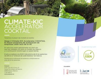 Climate-KIC Accelerator COCKTAIL