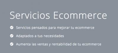 Servicios Ecommerce
