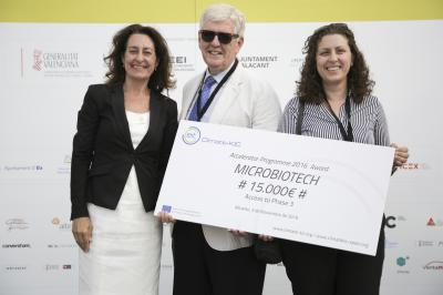Una de las 6 empresas reconocidas con los Premios Climate KIC