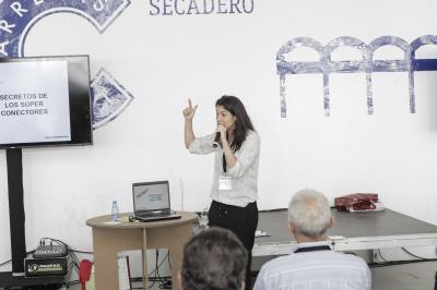 Isabel Anthony en el Networking La colmena