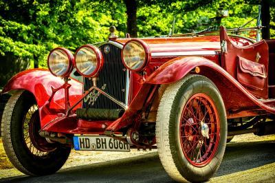 Los coches clásicos descapotables marcan la diferencia