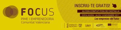 Banner Focus Pyme y Emprendimiento Alcoià-Comtat-Foia