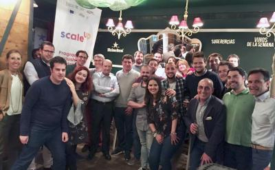 Networking de expertos del ecosistema y empresas Scale Up 2018