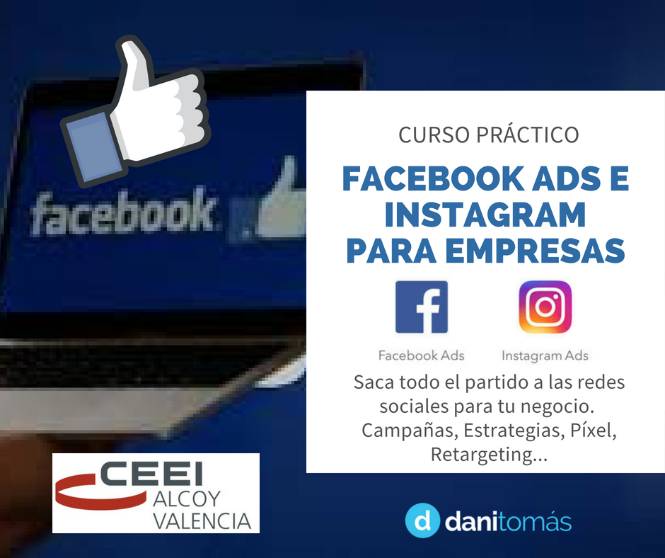 Taller Facebook Ads Alcoy