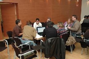 Sesiones trabajo Iweekend Alicante 2010