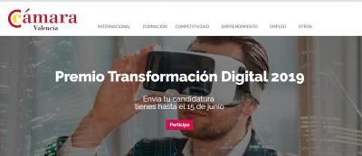 Premio Transformación digital 2019
