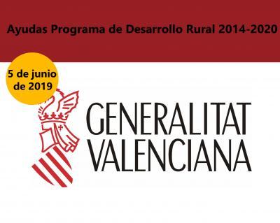 Ayudas programa desarrollo rural 2014-2020