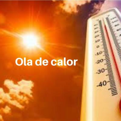 ola de calor y césped artificial colorfloor
