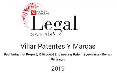 Acquisition internacional Legal awards