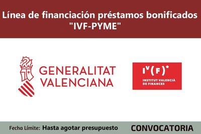 Línea de financiación bonificada IVF PYME