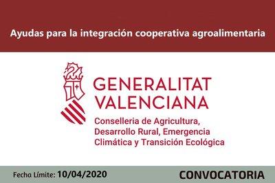 Ayudas a las cooperativas agroalimentarias