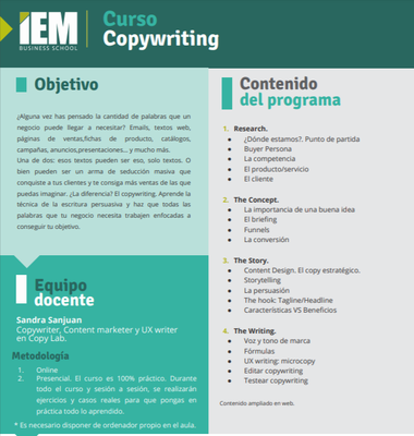 Curso Copywriting