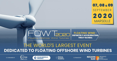 FOWT 2020 : once again the world's largest event dedicated to floating offshore wind