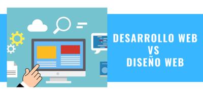 desarrollo web vs diseño web