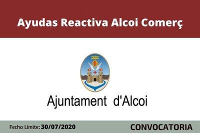 Ayudas Reactiva Comerç Alcoi