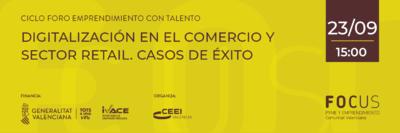 Foro Emprendimiento con Talento digitalización comercio
