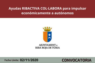 Programa RIBACTIVA COL·LABORA 2020