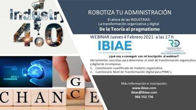 Webinar Robitzación Ibiae