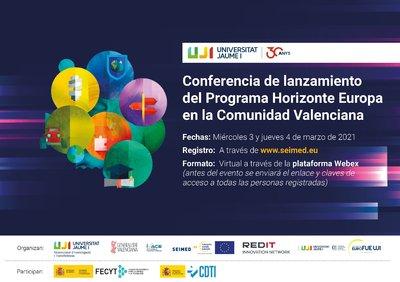 Lanzamiento del Programa Horizonte Europa en la Comunidad Valenciana