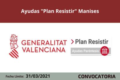 "Ayudas ""Plan Resistir"" en Manises"