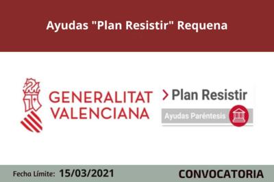 """Ayudas """"Plan Resistir"""" en Requena"""
