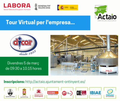 Tour virtual per la empresa Dicarcono