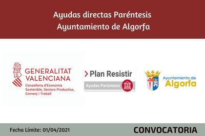 Ayudas Económicas Covid 19 - Ayuntamiento de Algorfa