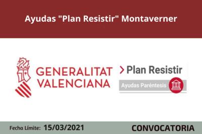 """Ayudas """"Plan Resistir"""" en Montaverner"""