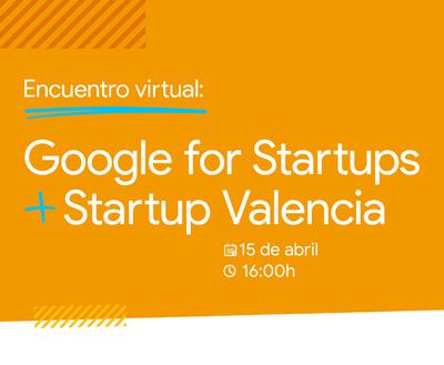 Google for Startups - Startup Valencia