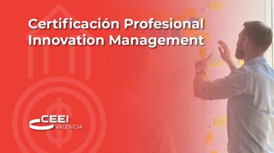 Certificación Profesional Innovation Management (CPIM)