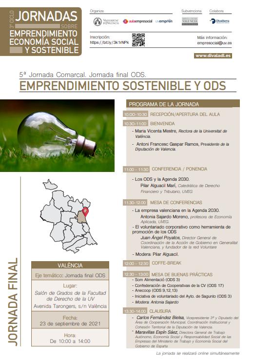 Emprendimiento Sostenible y ODS- Valencia