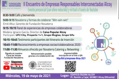 II Encuentro de Empresas Responsables Interconectadas Alcoy