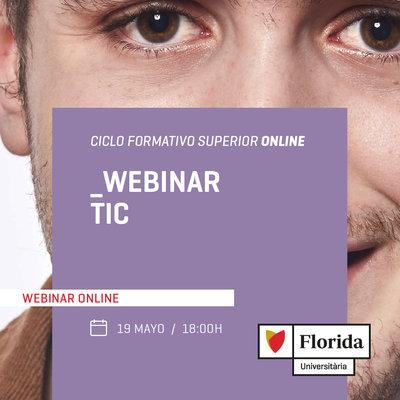 Webinar informativo de Ciclos TIC - Online