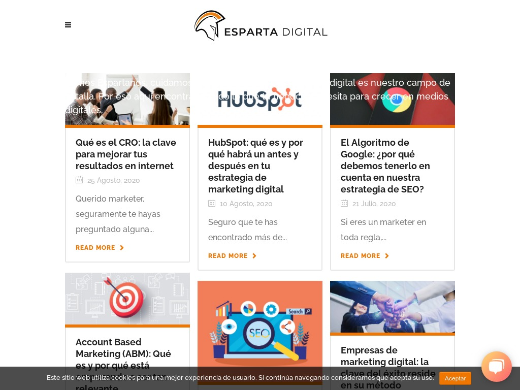 Blog de Marketing Digital | Esparta Digital
